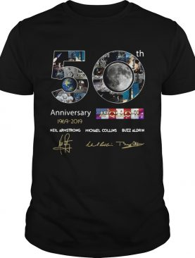 50th anniversary 19692019 Apollo 11 Neil Armstrong Michael Collins Buzz Aldrin shirt