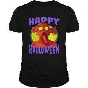 Awesome Happy Halloween Zombie Monster  Unisex