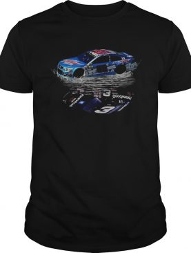 Dale Earnhardt Jr Car water mirror reflection shirt
