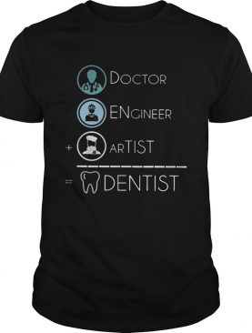 Dentist Is Doctor Engineer Artist Funny Dentist Men And Women Shirts