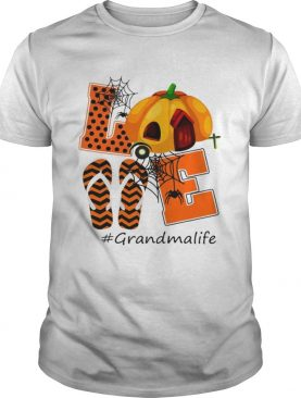 Halloween Womens Mom Love Grandma Life TShirt