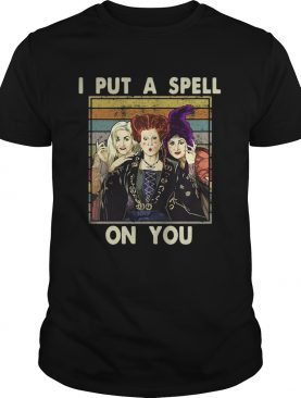 Hocus Pocus I put a spell on you sunset shirt