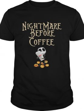 Jack Skellington hug Dunkin Donuts Nightmare before coffee shirt