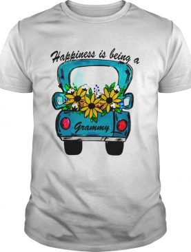 Sunflower Happiness Is Being A Grammy TShirt