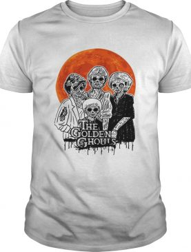 The Golden Ghouls Halloween moon shirt