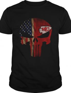 The Punisher Skull Flag Kansas City Chiefs Shirt