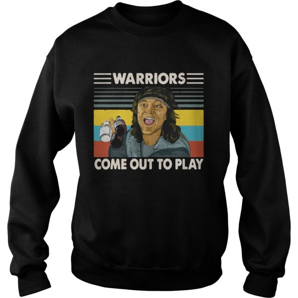 Warriors come out to play  Sweatshirt