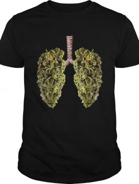 Weed Lung Marijuana Bid Lung Smoke Weed shirt
