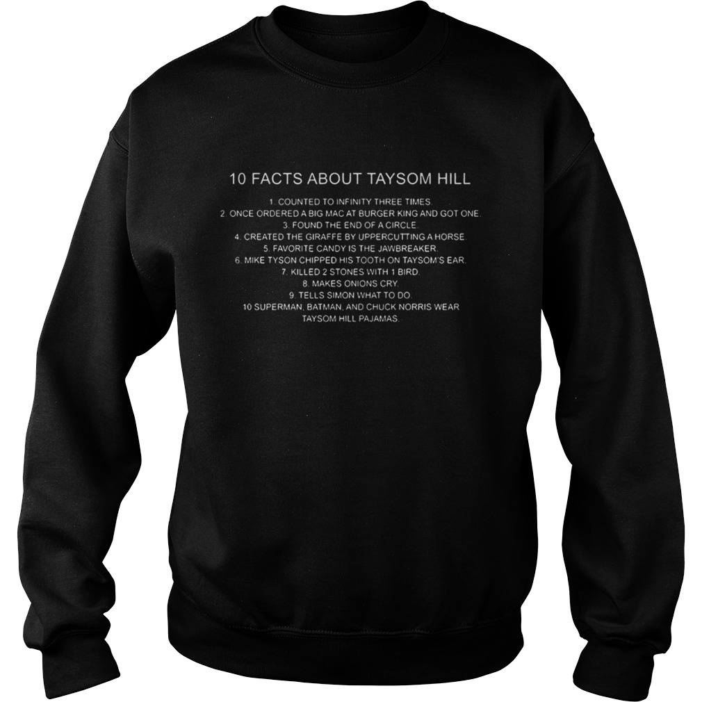 10 Facts About Taysom Hill Shirt Sweatshirt
