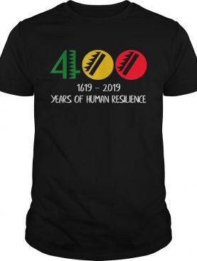 1619 Our Ancestors Project 400 Years Of Human Tshirt