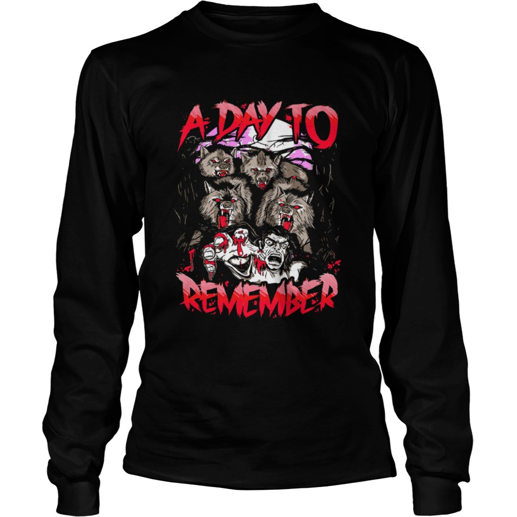 A Day To Remember Tour Dates 2019 LongSleeve