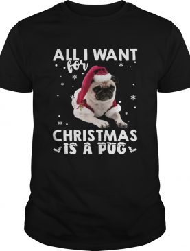 All I want for Christmas is a Pug shirt