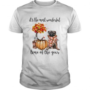 Bulldog pumpkin Its the most wonderful time of the year  Unisex