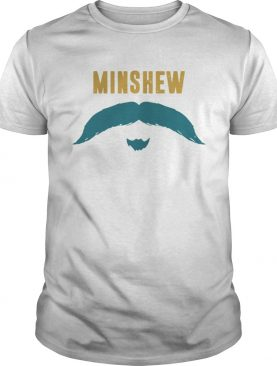 Football Jacksonville Fu Manchu Mustache Fan Minshew Shirt
