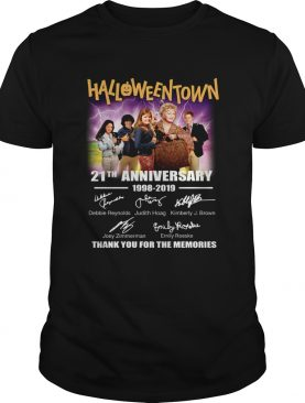 Halloween Town 21th anniversary 1998 2019 thank you for the memories shirt