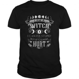 I am a witch I can fix stupid but its gonna hurt  Unisex