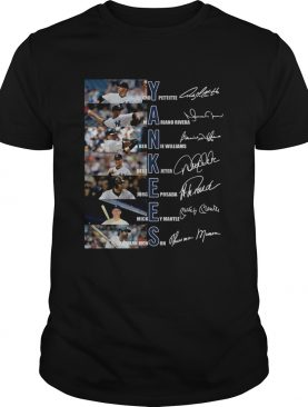 New York Yankees signature shirt