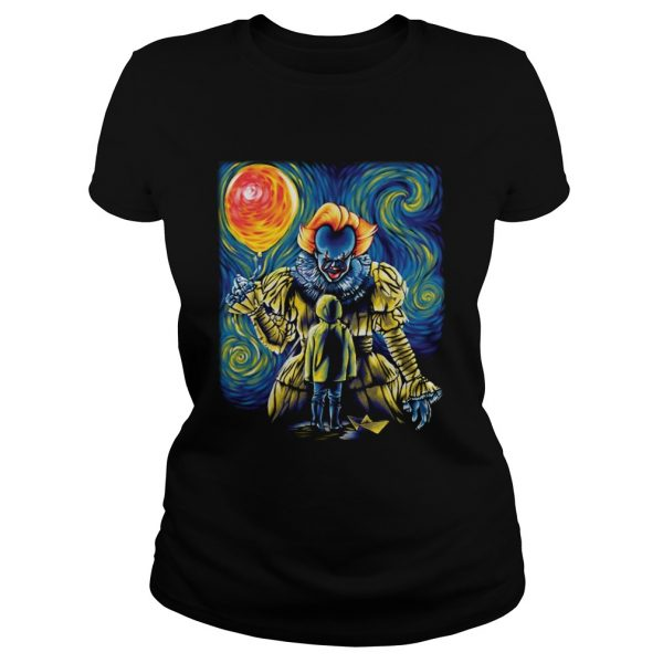 Pennywise IT Starry Night  Classic Ladies