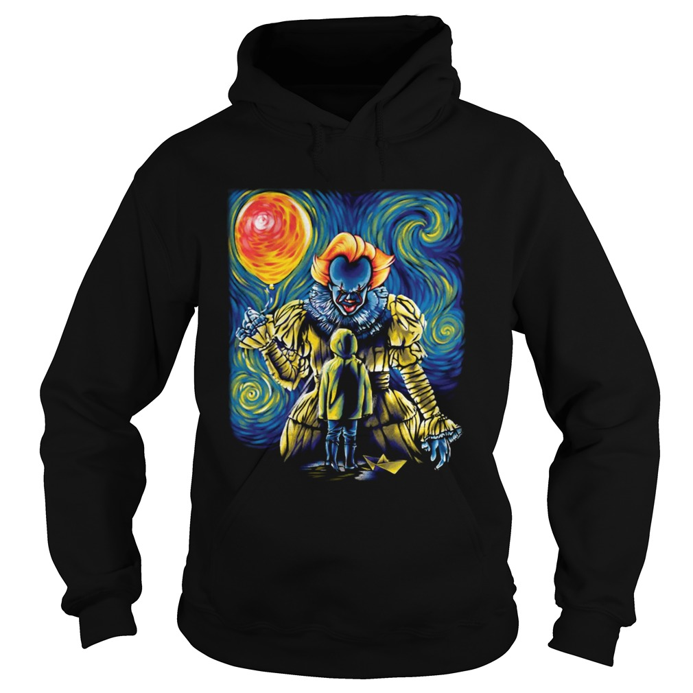 Pennywise IT Starry Night Hoodie