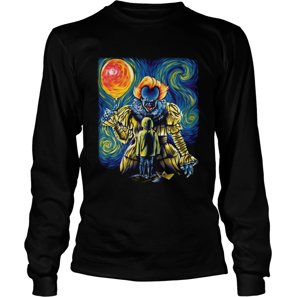 Pennywise IT Starry Night LongSleeve