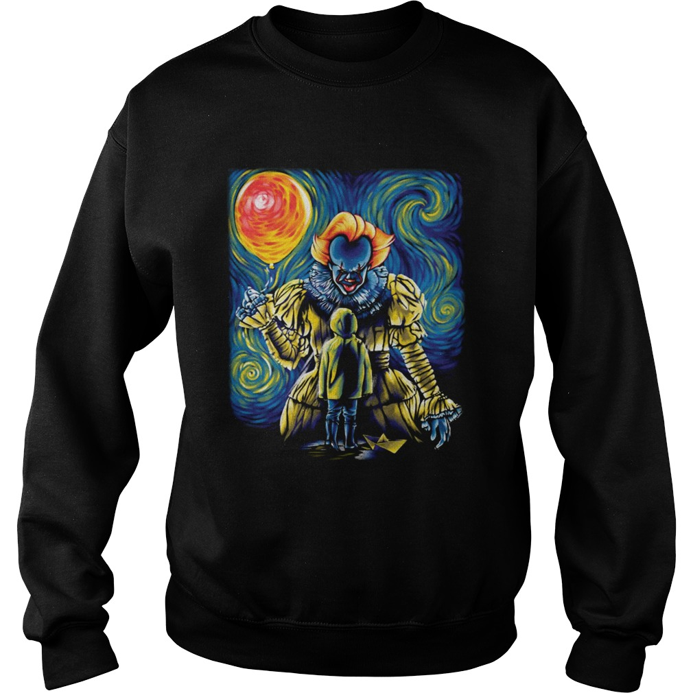Pennywise IT Starry Night Sweatshirt