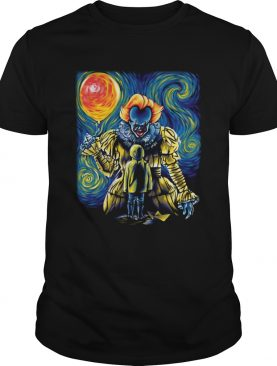 Pennywise IT Starry Night shirt