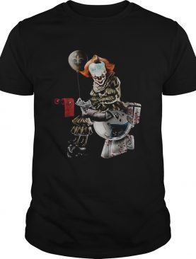 Pennywise New Orleans Saints Tampa Bay Buccaneers and Carolina Panthers toilet shirt