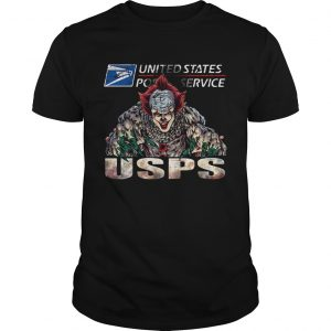 Pennywise United State Post Service Halloween  Unisex