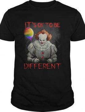 Pennywise its ok to be different shirt