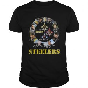 Pittsburgh Steelers logo player names signed  Unisex