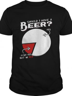 Should I Have A Beer Yes Also Yes But In Red Shirt