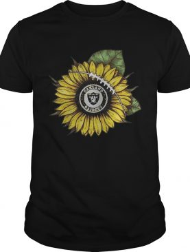 Sunflower Oakland Raiders shirt