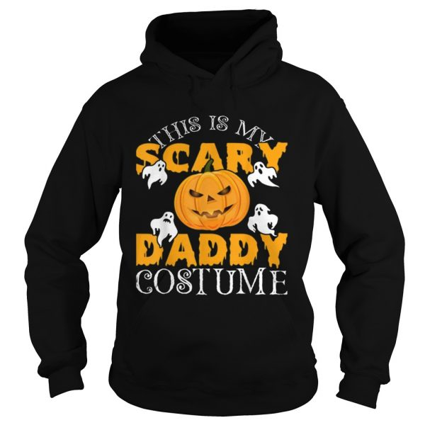 This Is My Daddy Costume Sarcastic Daddy Halloween  Hoodie