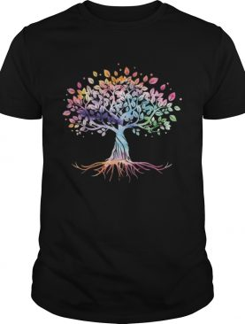 Unique Tree Colorful Life Is Really Good Vintage shirt