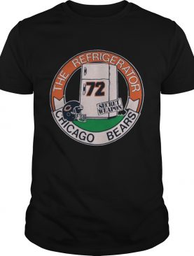 Vintage 1980s Chicago Bears Refrigerator Perry Tee Shirt
