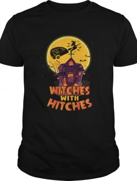 Witches With Hitches Funny Camping Halloween Girls Women tShirt