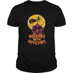 Witches With Hitches Funny Camping Halloween Girls Women tShirt Unisex