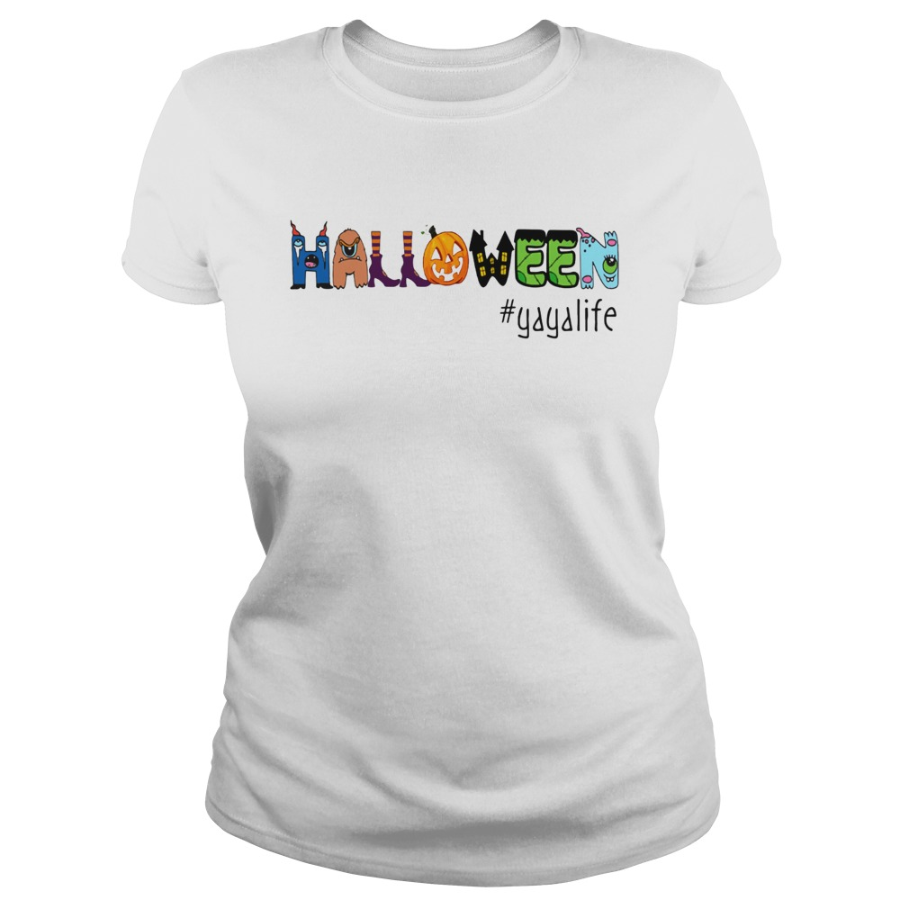 halloween yayalife TShirt Classic Ladies