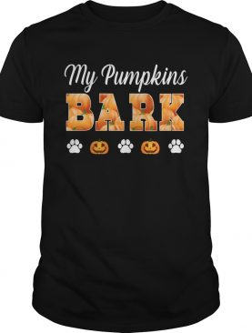 my pumpkin bark TShirt