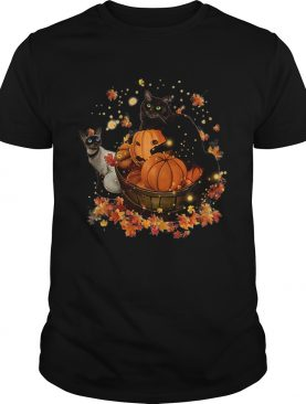 Cats Halloween Autumn shirt