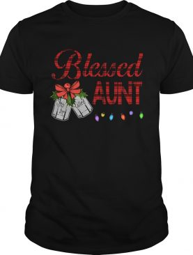 Christmas Blessed To Be Called Aunt TShirt