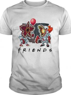 Demogorgon Pennywise IT Friends shirt