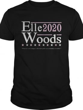 Elle Woods 2020 Election Shirt