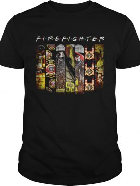 Firefighter friends tv show shirt