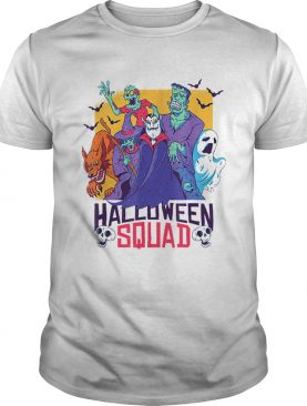 Halloween Squad Spooky Scary Ghosts shirt