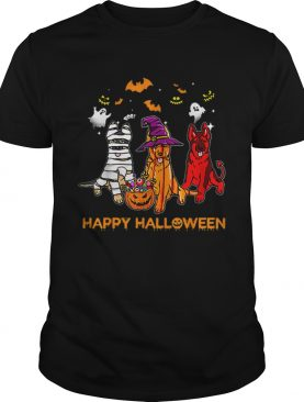 Happy Halloween German Shepherd Gift Pumpkin Mummy shirt