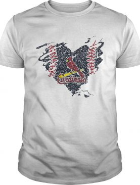 Heart Diamond St Louis Cardinals shirt