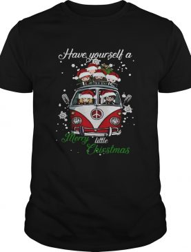 Hippie Harry Potter have yourself a merry little christmas tshirt LlMlTED EDlTlON