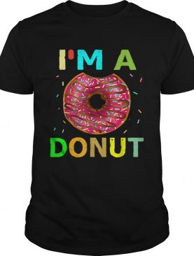 Im A Donut Halloween Costumes Gifts Men Women Kids shirt