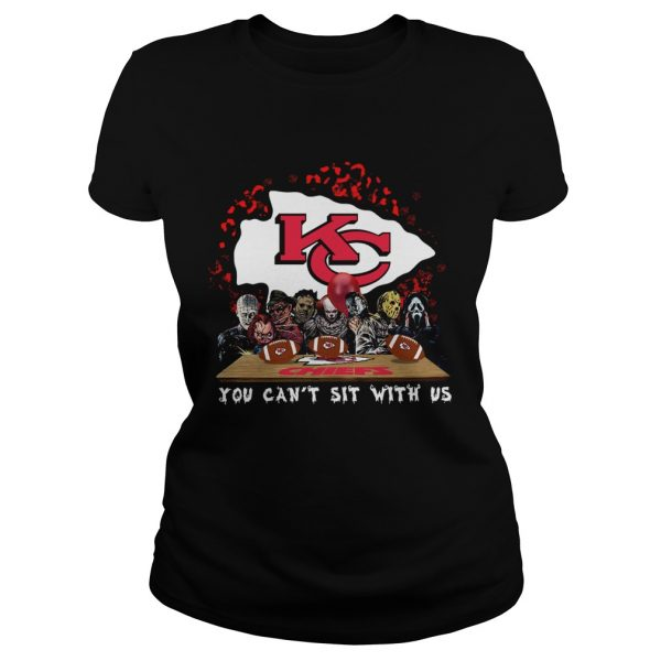 Kansas City Chiefs Horror team you cant sit with us  Classic Ladies